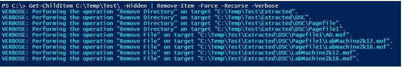 PowerShell Delete Folder Example 8