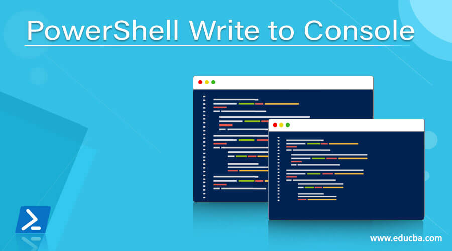 PowerShell Write to Console