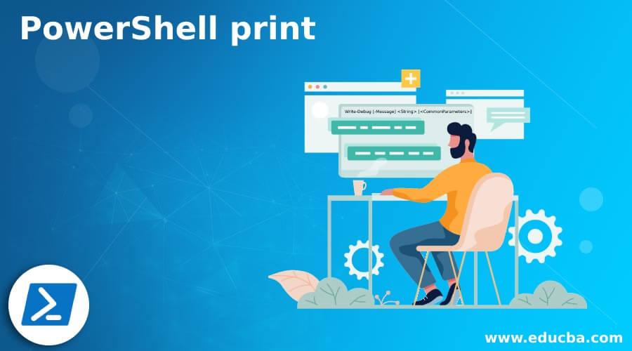 PowerShell print