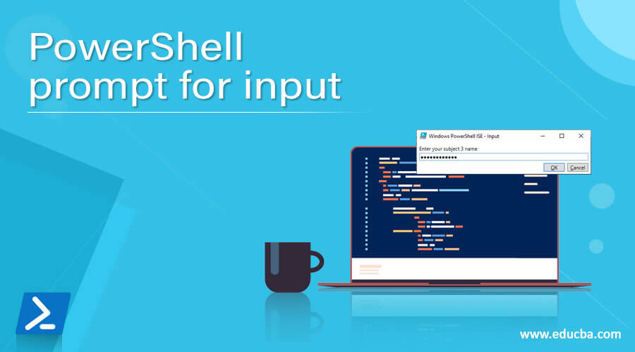 PowerShell prompt for input