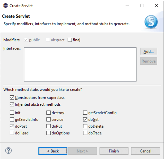 Servlet in Java Example 4B