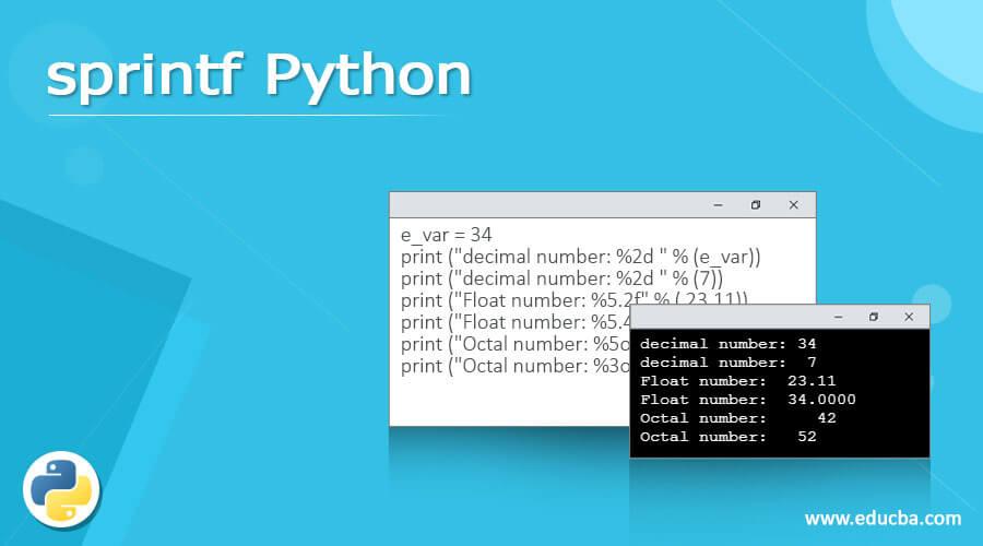 sprintf Python