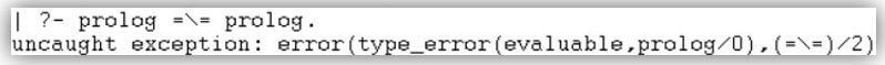 Prolog not equal 3