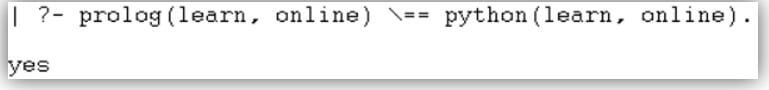 Prolog not equal 9