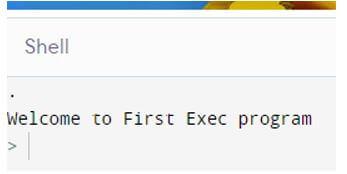 exec Python 1