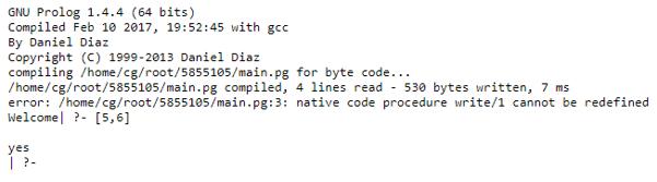 prolog write 2