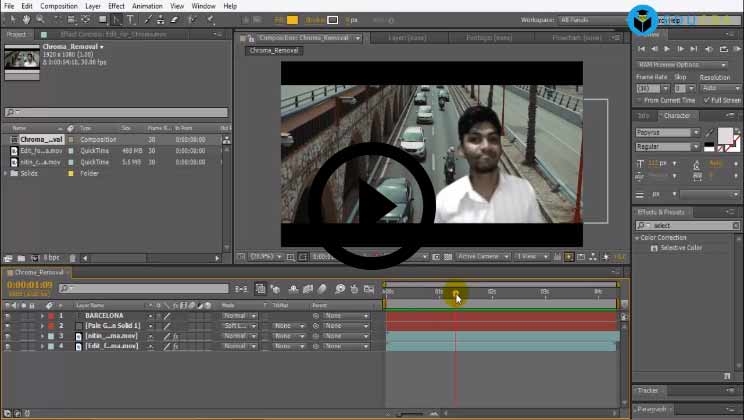 Adobe After Effects- Adobe After Effects Course Training