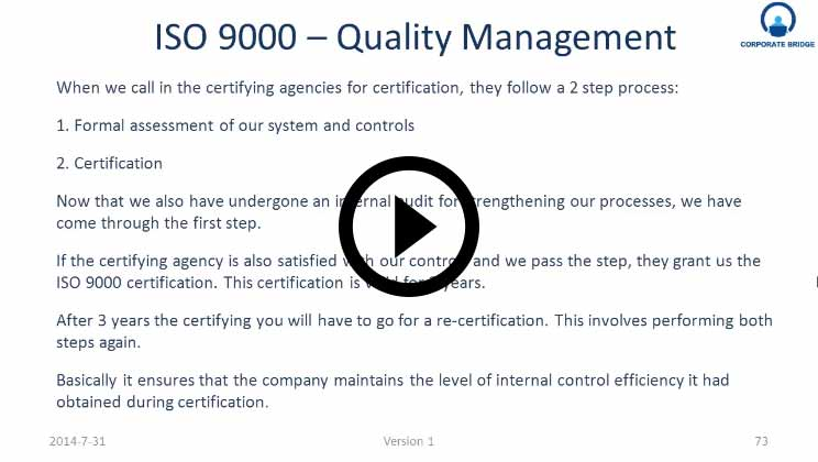 ISO 9000 Quality Management