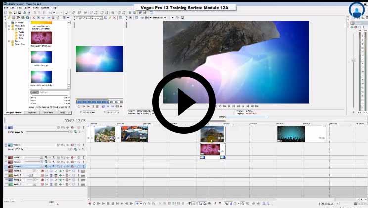 Vegas Pro 13 Training | Sony Vegas Pro Software