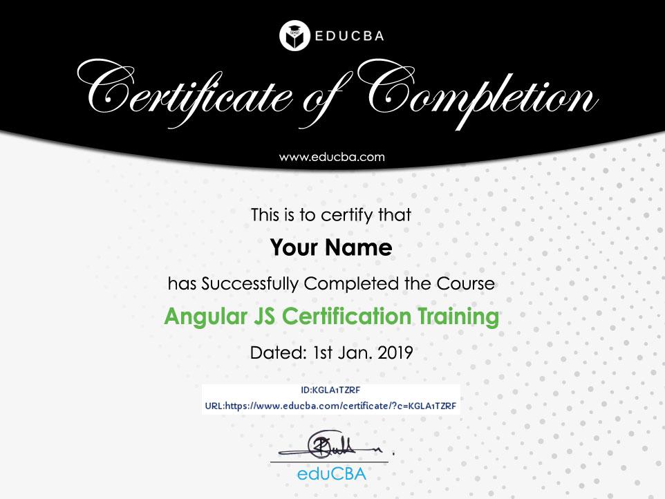 Angular JS Certification Training