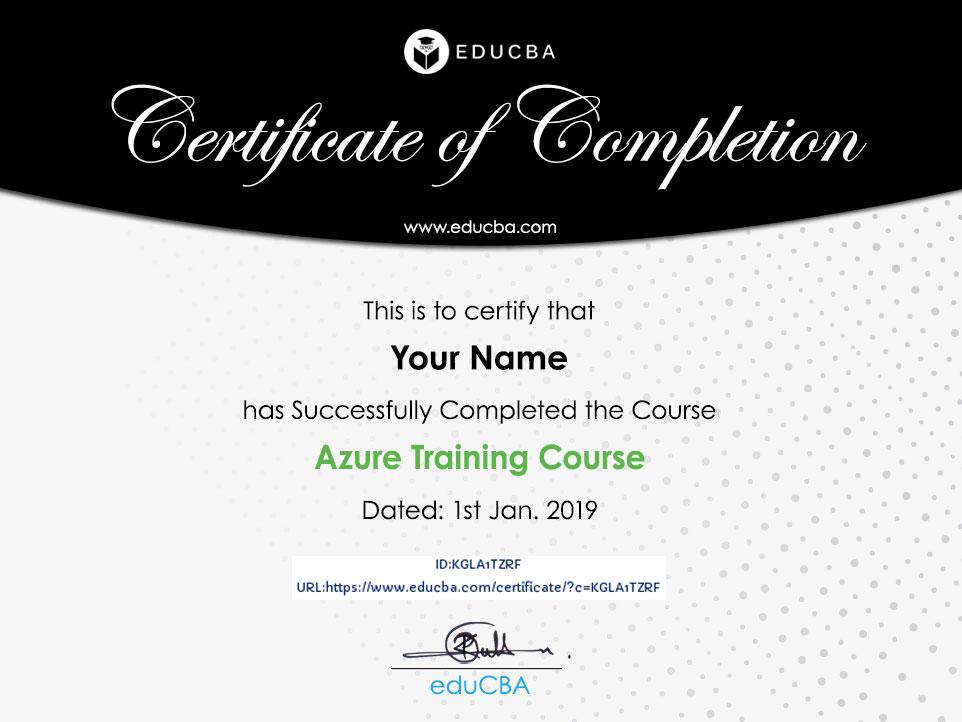 Azure Training Course