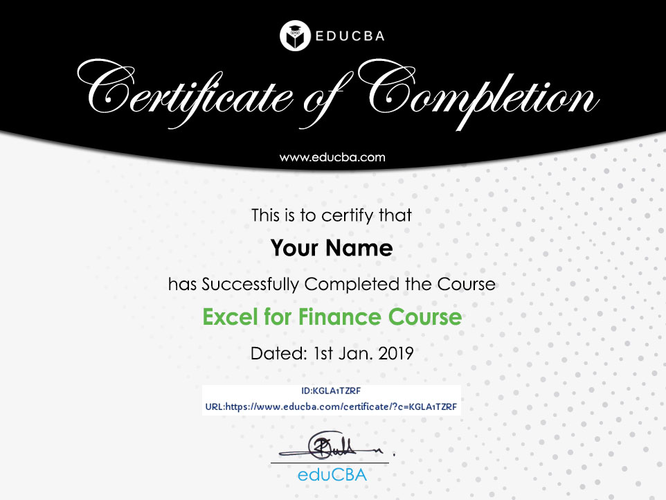 Excel For Finance Course 15 Courses Bundle Online Certification
