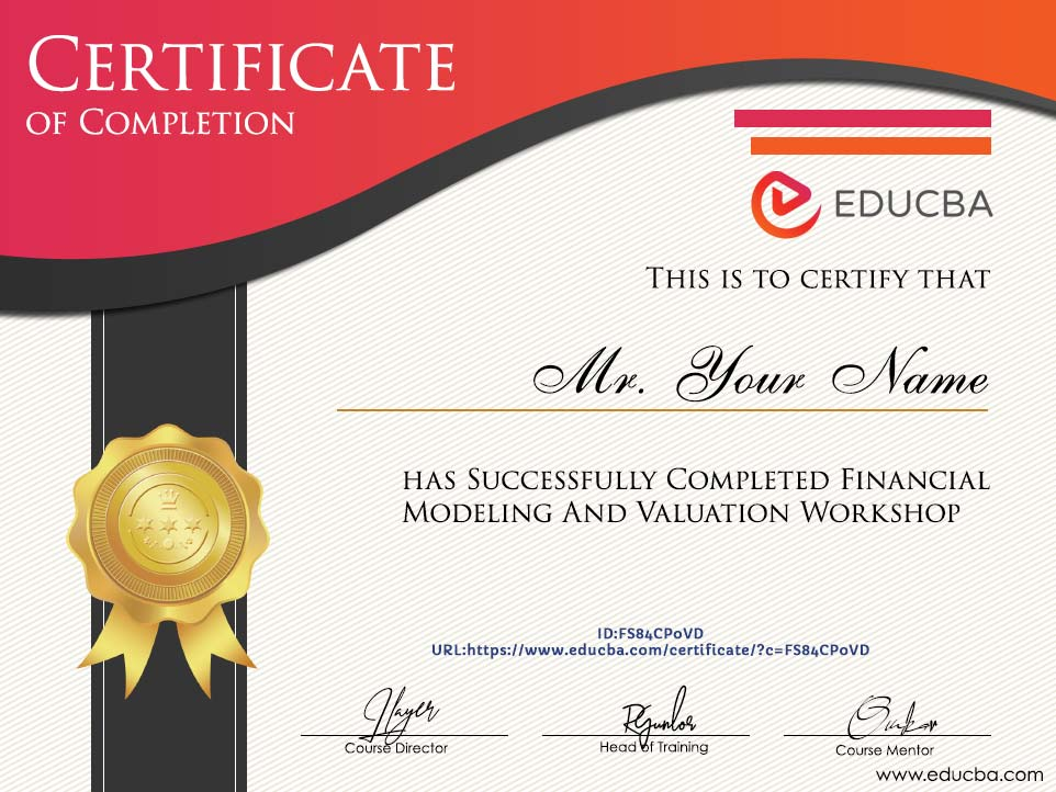 Online Financial Modeling Course