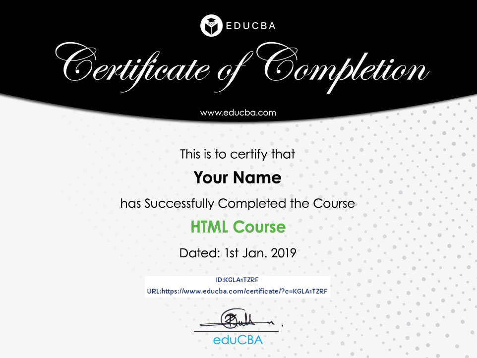 HTML Course