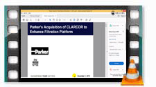 Introduction to Hannifin and Clarcor Merger Modeling
