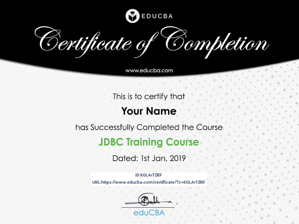 JDBC Training Course