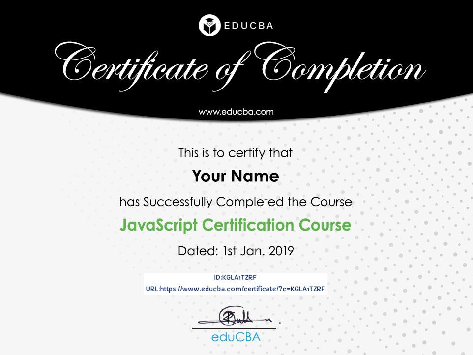 JavaScript Certification Course