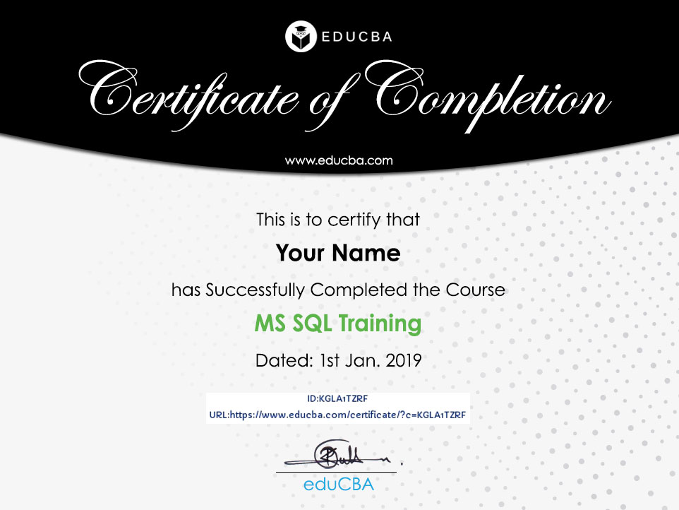 MS SQL Training