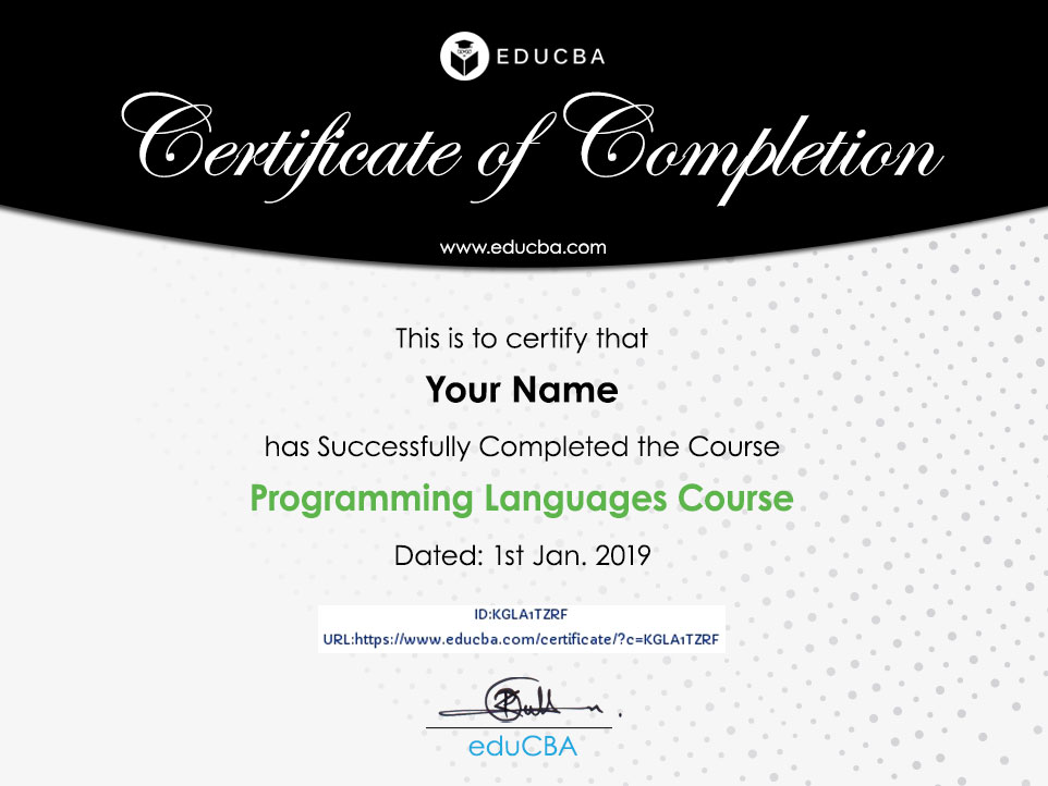 Programming Languages Course