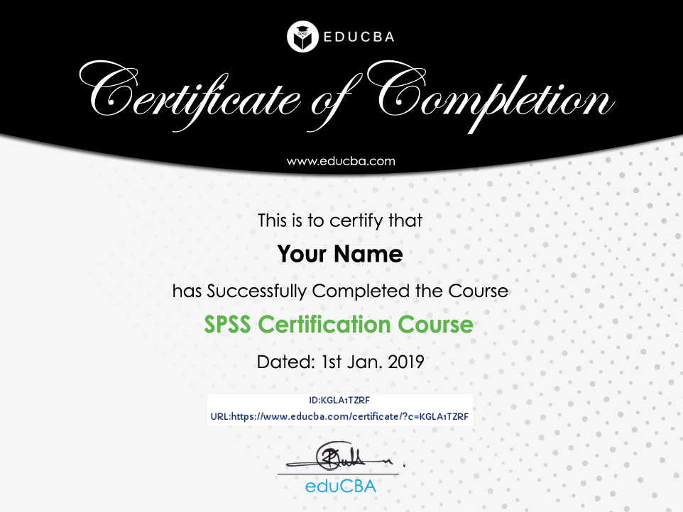 SPSS Certification Course
