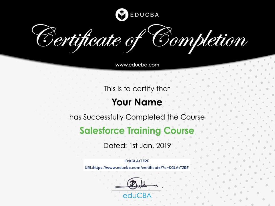 Salesforce Training Course