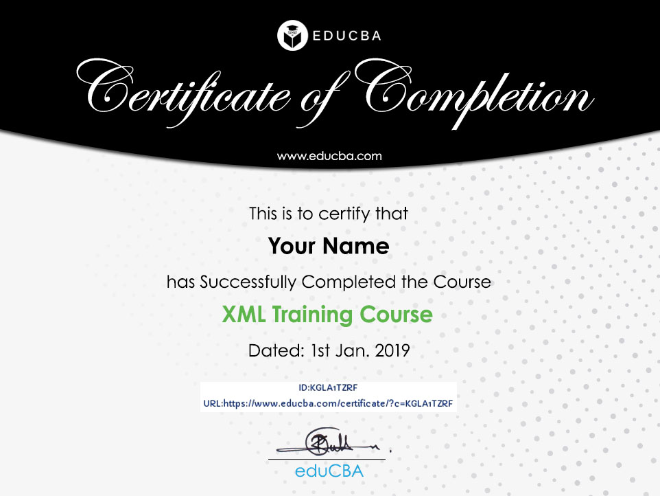 XML Training Course